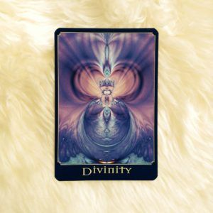 Divinity oracle card