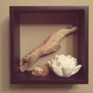 altar in a picture frame