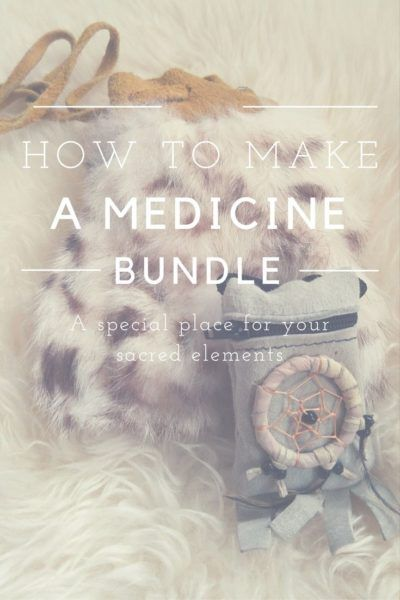 how to make a medicine bundle