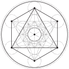 metatron's cube for crystal grid