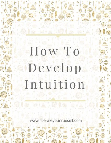 How to develop intuition (2)