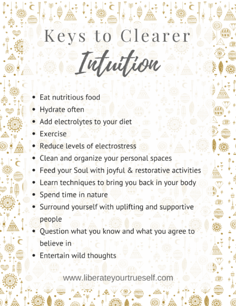 Keys to clearer intuition