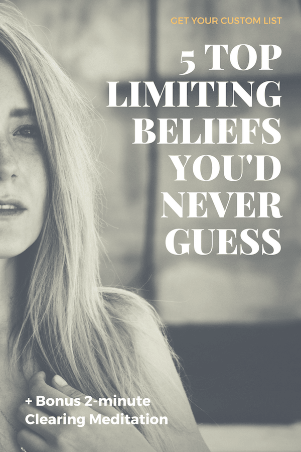 Top Limiting Beliefs you'd never guess