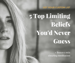 5 top limiting beliefs and quiz