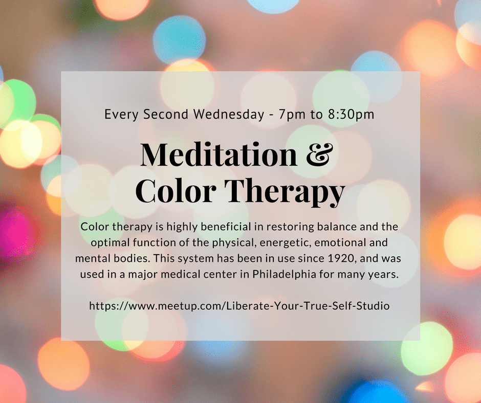 Meditation & Color Therapy