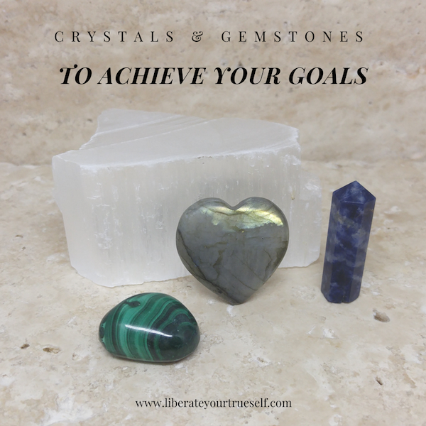 gemstones to achieve goals