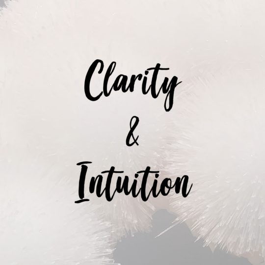 crystals for clarity and intuition