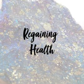 crystals for regaining health