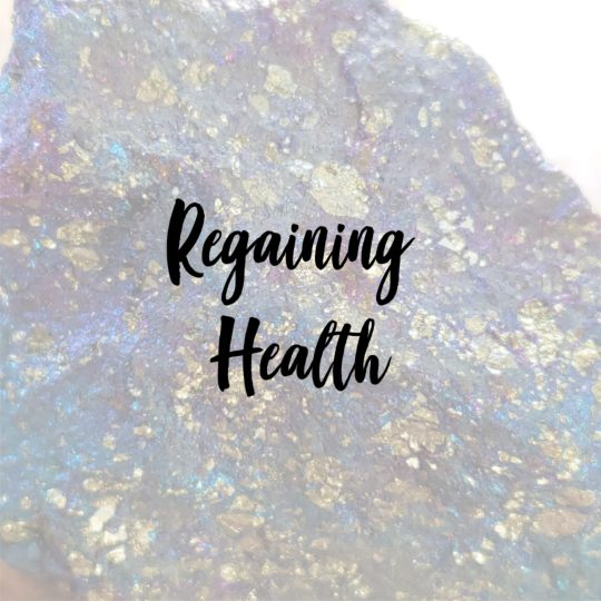 crystals for regaining health