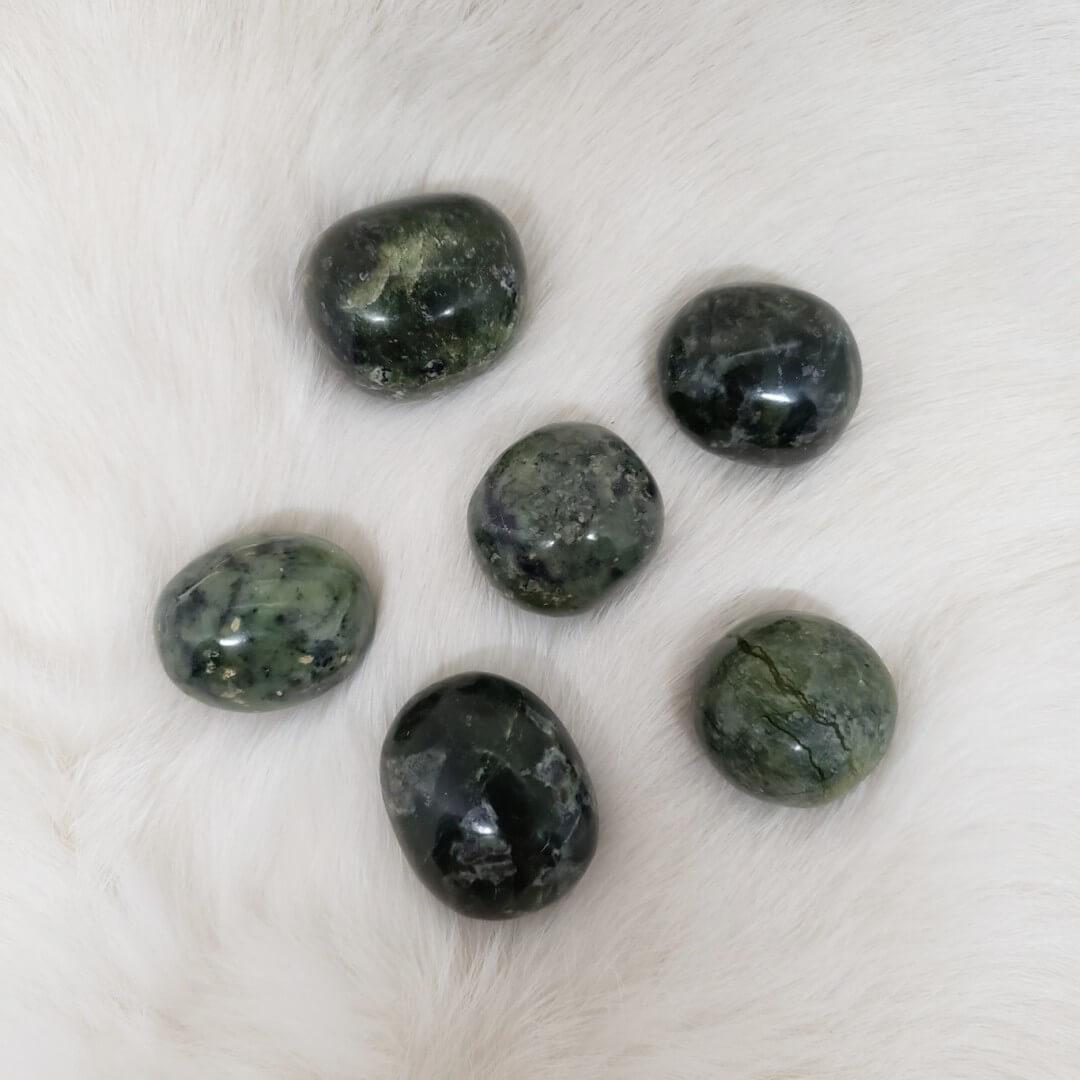 Nephrite Jade Tumble