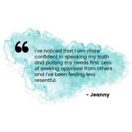 testimonial healing - quote from jeanny