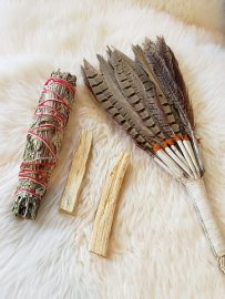 smudging crystals