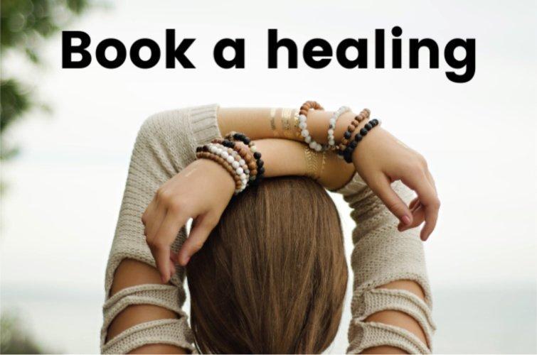 book a healing - spiritual healing