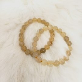 Golden Rutilated Bracelet