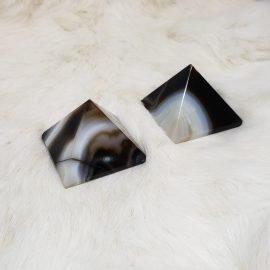 Banded Onyx Pyramid