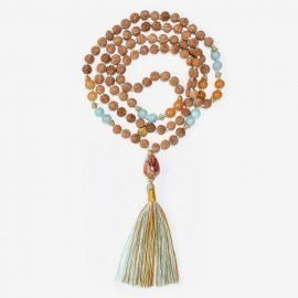 Ohana Tribe Gold Mala Necklace