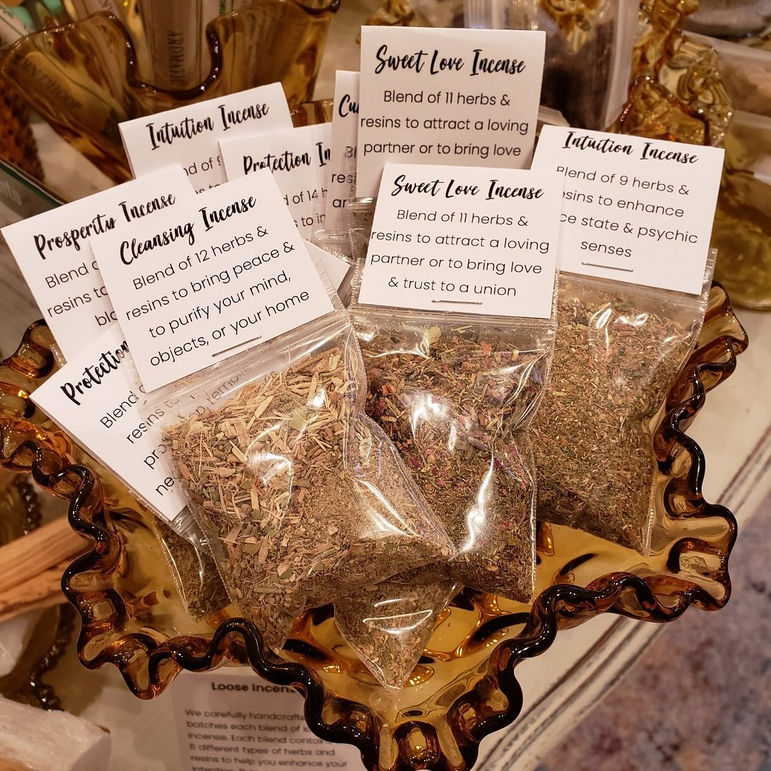 Prosperity Incense – Loose Leaf Blend