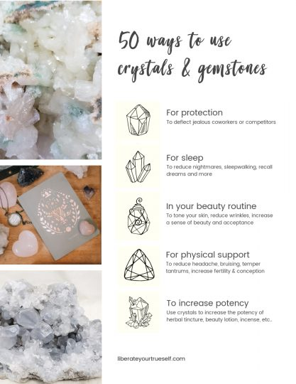 50 ways to use crystals