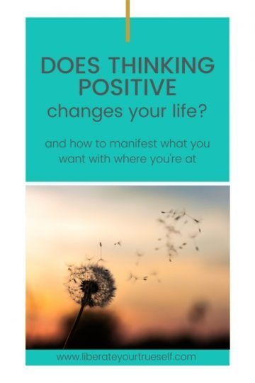 thinking positive and the law of attraction