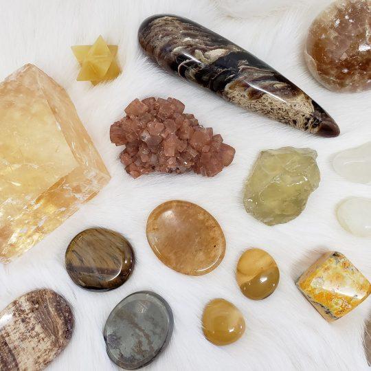 yellow gemstones properties
