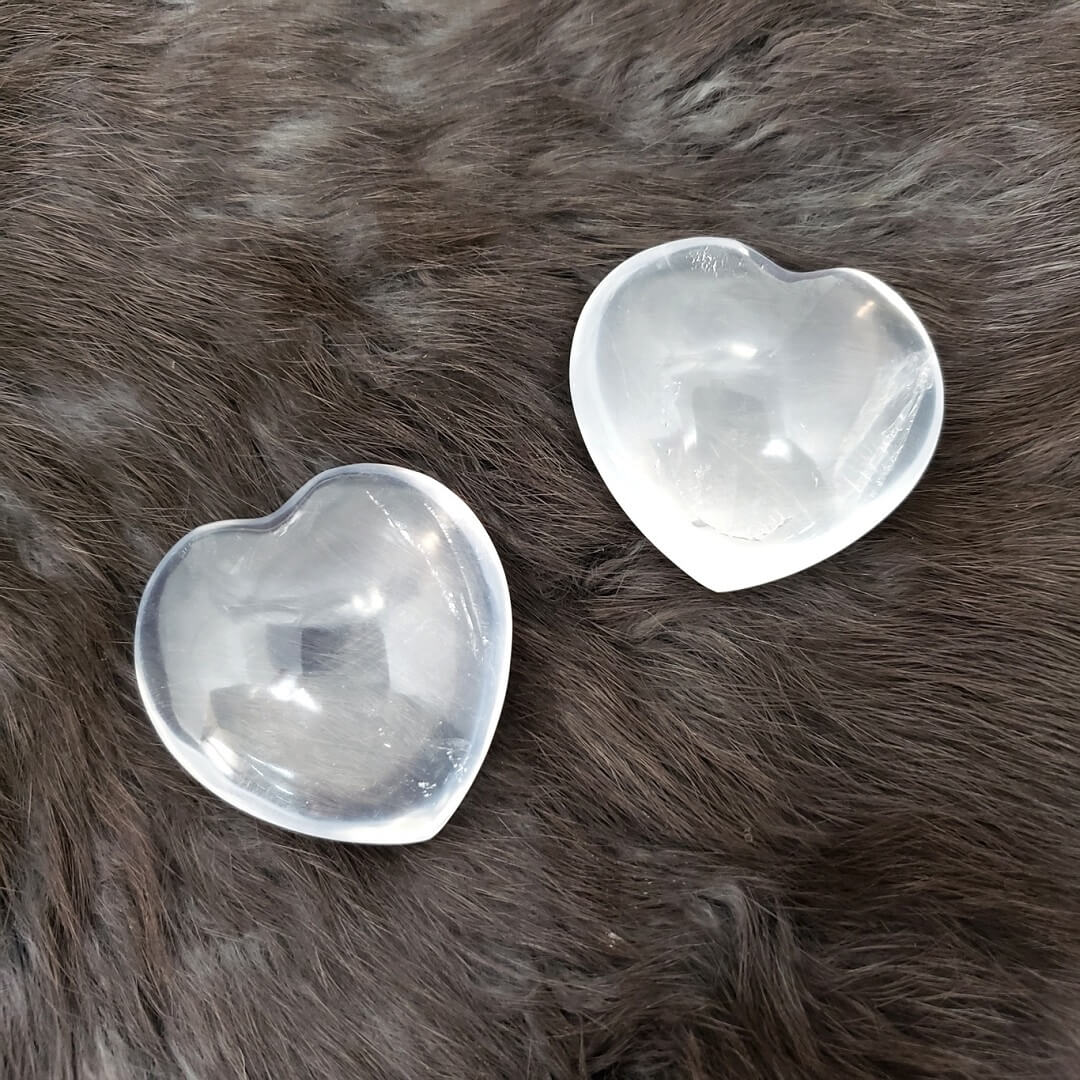 Girasol Quartz Heart