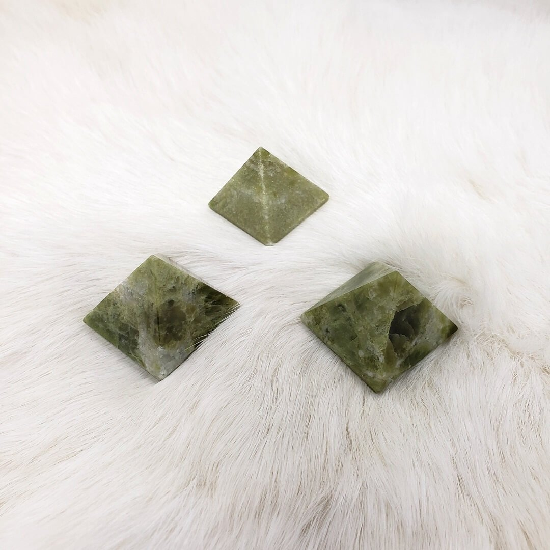 Vesuvianite Pyramid