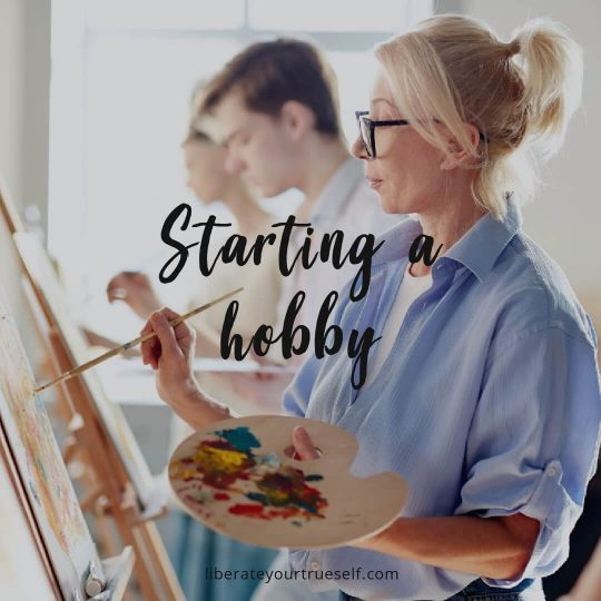 improve mental health by starting a hobby