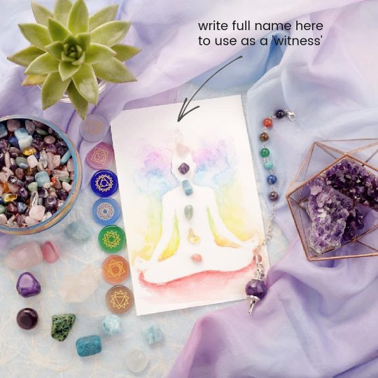 crystal healing grid