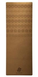 chakra symbol yoga mat