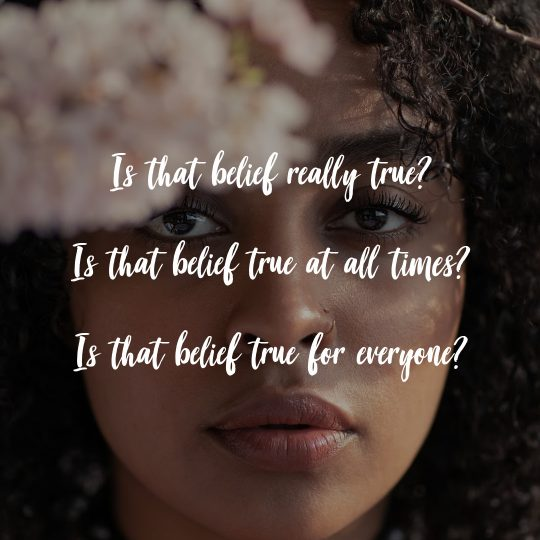 belief clearing chat