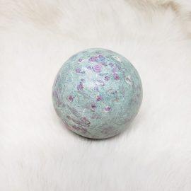 ruby fuchsite sphere