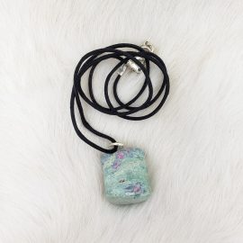 ruby fuchsite necklace