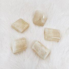 Honey Calcite Tumble