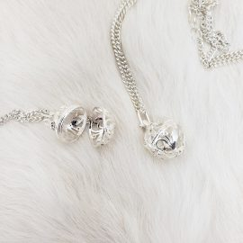 Small Locket Necklace