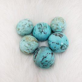 peruvian chrysocolla - turquoise style
