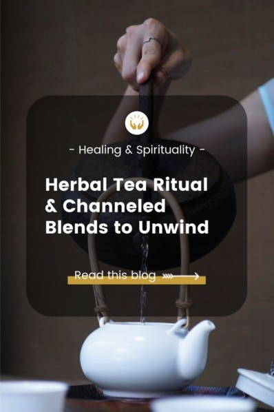 tea ritual and herbal blends
