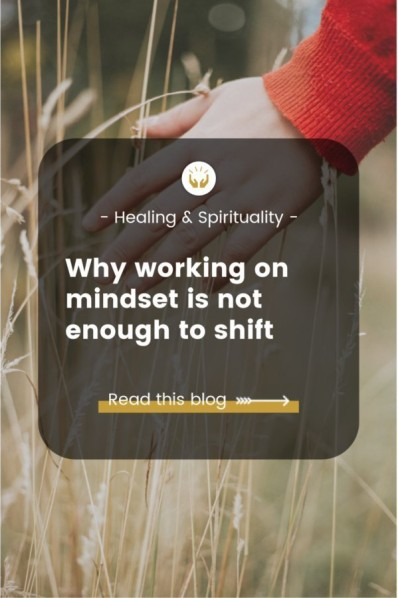 Why working on mindset is not enough
