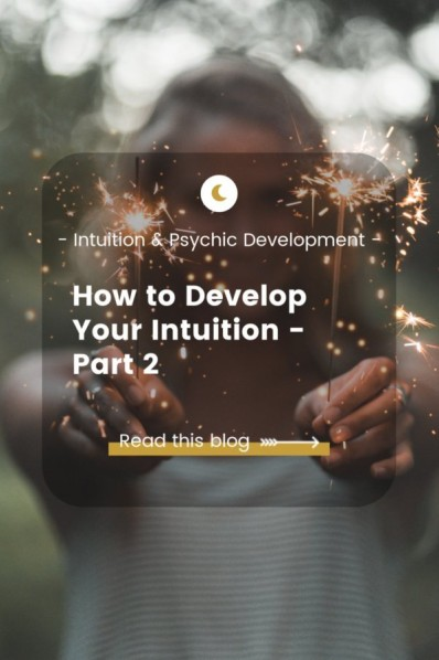 How to Develop Your Intuition Blog - woman with fire cracker